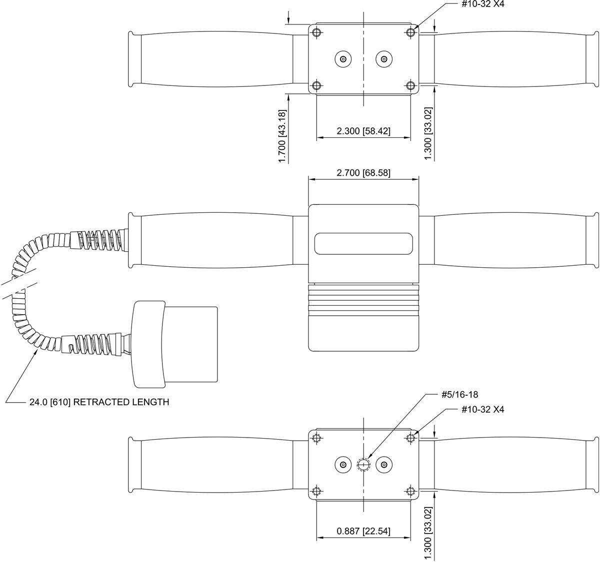 Dimensiones Sensor R05